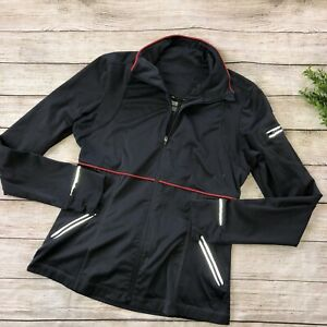 Athleta Medium Running Jacket Gray K1