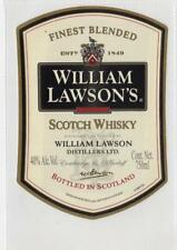 WILLIAM LAWSON'S SCOTCH WHISKY: Whisky label (C40102)
