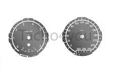 BMW Tachoscheiben für 1er E81 E82 E87 E88 Benziner 300 kmh km/h M1 Carbon Nr 110