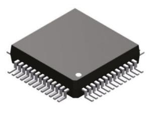 10 Ch 16bit Analog Microcontroller 12.58MHz 62kB Flash ADUC848BSZ8-5 MQFP-52