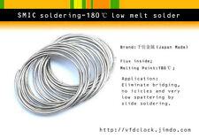For CellPhone Repairing-SMIC Dia. 0.3mm low melt temperature solder wire,~8m len