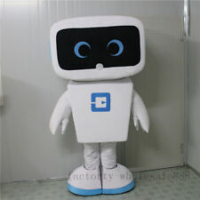 Advertising Promotion New Android Robot Mascot Costume Facny Dress Adults Size