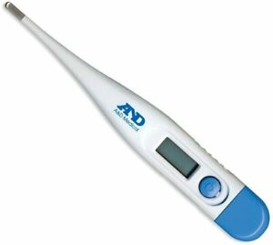 A&D Medical UT103 Digital Thermometer Oral, Underarm or Rectal