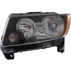 New Driver Side New Driver Side DOT/SAE Headlight For Jeep Compass 2013-2017