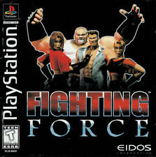 Fighting Force - PS1 PS2 Playstation Game