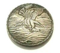 Exonumia German Medal -/- EXONUMIA -/- Silver plated token