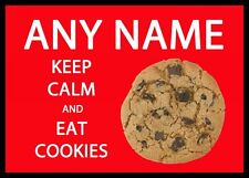 Keep Calm and Eat cookie personalizzati tavola PLACEMAT
