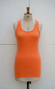 Sweaty Betty Mantra Jersey Vest, Orange, Size M, UK12
