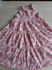 Girls 5-6 Yrs Pink Sleeveless Summer Dress Mothercare