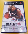 NBA LIVE 06 GIOCO PS2 VERSIONE ITALIANA