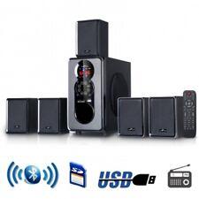 beFree Sound BFS455 5.1 Channel Surround Sound Bluetooth Speaker System in Black