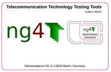 Test SIM Card XOR Algorithm (set of 10)