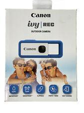 Canon IVY REC Full HD Digital Still Image Video Outdoor Camera FV-100-BL