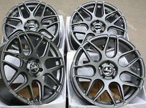 """18"""" Grey CR1 Alloy Wheels Fits 2014> Onwards Vauxhall Opel Vivaro Van Bus 5x114"""