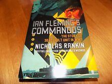 IAN FLEMING'S COMMANDOES British Commando OO7 Fleming World War II WWII Book