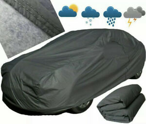 Waterproof Car Cover 2 Layer Heavy Duty Cotton Lined UV Protection - Size XL 4x4