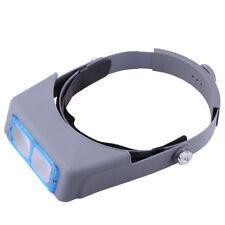 Head Band Vergrößerungsglas Optische Glaslinse Schweißen Uhrmacher Augen Lupen
