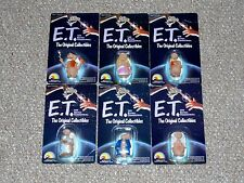 "1982 LJN 2"" E.T. The Extra-Terrestrial Series 1 Complete Set MOC 6 Figure Lot"