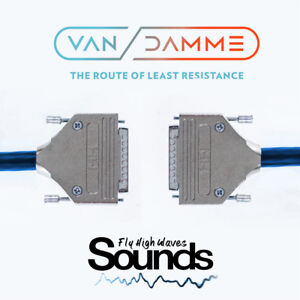 Van Damme D-Sub Multicore   DB25 - DB25   8 Way   50cm Loom   Analog Tascam