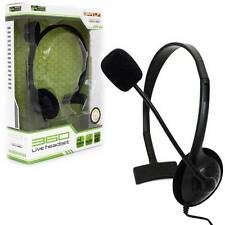 Xbox 360 - Live Chat Headset with Single Mic - Black - Mono (KMD)