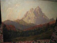 FLASHAR Bruno, *1881 Wundervoller Bergblick 1929