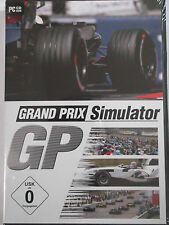 Grand prix simulateur de formule 1-rennboliden, fascination speed, entraînement, champion