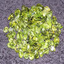 20 x Peridot Tumblestones 5mm-9mm A Grade Crystal Gemstone Wholesale Bulk