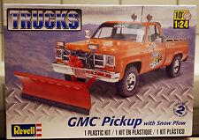 1977 GMC Pickup m. Schneepflug, 1:25, Revell 7222