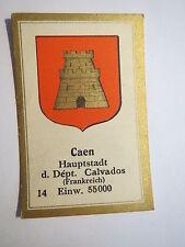 Caen / Sammelbild Abdulla Wappen