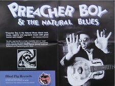 PREACHER BOY & THE NATURAL BLUES POSTER (J8)