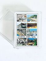 Vintage Costa Del Sol Souvenir Playing Cards Plastic Coated