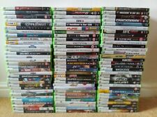 GREAT SELECTION OF MICROSOFT XBOX 360 Games !! LOT 4 - PICK FROM THE LIST