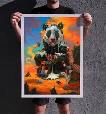 Dulk THE SUMMIT Giclee Print Limited Edition Signed x/60 Spusta Welker Drew