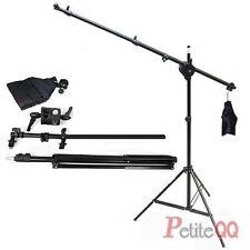 Photo Lighting Arm Boom Light Stand Reflector Holder Swivel Clamp Sandbag U