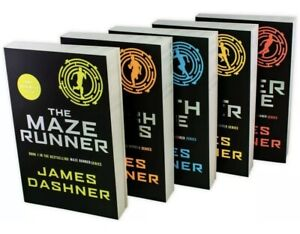 Maze Runner Series 5 Books Children Collection Paperback Set - GIFT