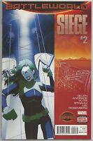 Siege #2 : Battleworld : Marvel comic book