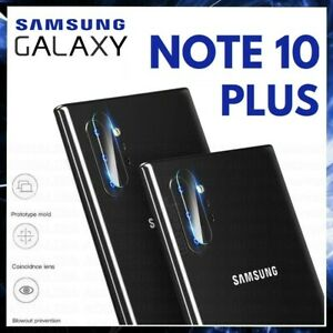 Glass Camera for Samsung Galaxy Note 10 Plus + Slide Tempered Protection