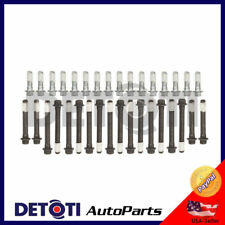 Cylinder Head Bolts For 96-02 Chevrolet GMC Cadillac Hummer 5.7L V8 VORTEC P30