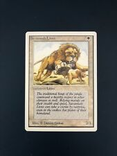 Savannah Lions UNLIMITED edition NM (x1) Magic the Gathering MTG Old School