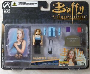 Vampire Buffy Palz Palisades Toy Fare Exclusive Series 1 Block Mini-Figure NIB