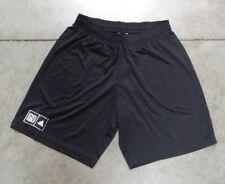 Official Adidias MLS Men's Black Color Elastic Waist Shorts Size 2X-Large