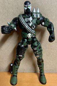 McFarlane Toys Commando Spawn Loose Action Figure 1995 Series 2 Camo Spawn RARE