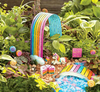 Studio M E8 Gypsy Garden Fairy Magic Rainbow Unicorn - Cake / Lollipop & More