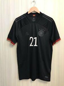 5+/5 Deutschland #21 2020/2021 away Size M Germany shirt jersey soccer football