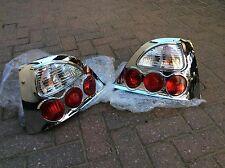 Mg Zr / Rover 25  Chrome Lexus Style Rear Lamps