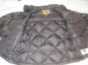 Mountain Hardwear Phantom Goose Down Jacket Coat Quilted Puffer Black SOFT LIGHT