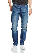 Blu W30/l32 G-star 3301 Slim Hydrite Denim Jeans da Uomo (blau (medium Aged))