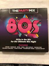 Various Artists - 80's Party Mix - 3 x CD Album