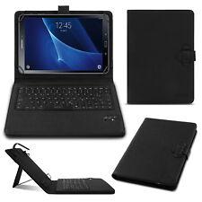 Tastatur Hülle Bluetooth Keyboard Tasche Samsung Galaxy Tab A6 10.1 Case QWERTZ