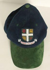 Hampton Court Palace Crest Hat Navy Blue Green Adjustable